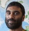 Kumi Naidoo Scales Cairn's Arctic Oil Rig
