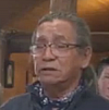 Cree Elder AJ Felix at The Turtle Lodge